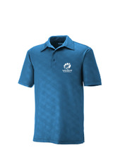 BLUE SNAKESKIN POLO