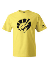 HANES SHORT SLEEVE YELLOW T