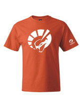 HANES SHORT SLEEVE ORANGE T