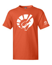 YOUTH SHORT SLEEVE TEE IN ORANGE
