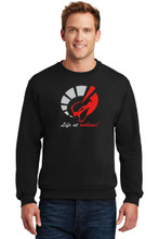 LIFE AT REDLINE EMBROIDERED SWEATSHIRT!!