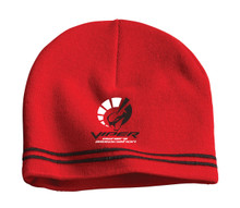 VOA Red and Black Beanie