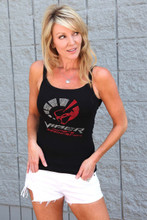 "LADIES CRYSTAL ""VIPER OWNERS ASSOCIATION"" BLING T SHIRT"