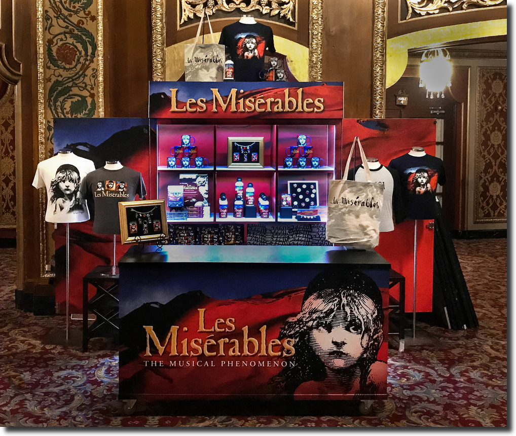 Platypus Merchandise Les Mis
