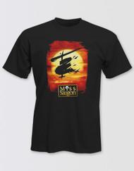 Miss Saigon Unisex Black Logo T-Shirt