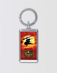 Miss Saigon Logo Keychain