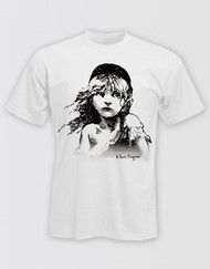 Les Miserables Unisex White T-Shirt