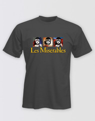 Les Miserables Unisex Grey Block T-Shirt