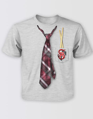 School of Rock the Musical Kids Tie Print T-Shirt
