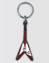 School of Rock the Musical Guitar Keyring