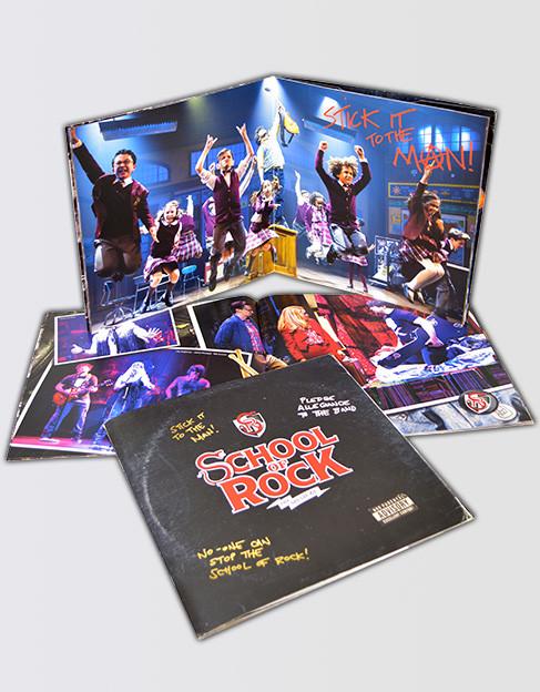 School of Rock the Musical Souvenir Program