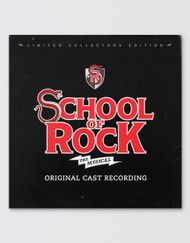 SCHOOL OF ROCK Original Cast Recording Vinyl Record
