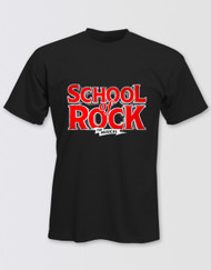 SCHOOL OF ROCK Adults Logo T-Shirt