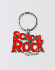 SCHOOL OF ROCK Logo Keychain