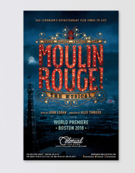 Moulin Rouge! the Musical Poster - Boston