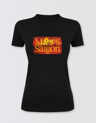 Miss Saigon Fitted Logo T-Shirt