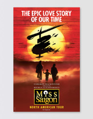 Miss Saigon Tour Poster