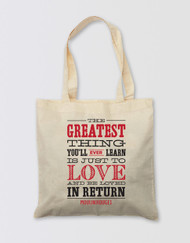 Moulin Rouge! the Musical Tote Bag - The Greatest Thing