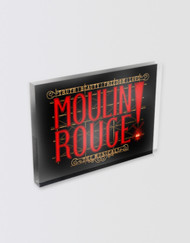 Moulin Rouge! the Musical Logo Magnet