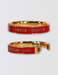 Moulin Rouge! the Musical Cuff Bangle - Red