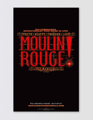 Moulin Rouge! the Musical Poster - Logo