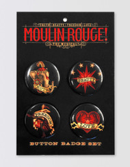Moulin Rouge! the Musical Button Badge Set