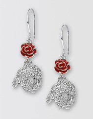 The Phantom of the Opera Broadway Diamante Earrings