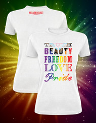 Moulin Rouge! the Musical Pride T-Shirt - Fitted