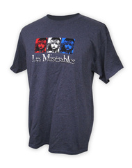 Les Miserables US Tour Tri Color T-Shirt Left