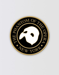 The Phantom of the Opera Broadway Lapel Pin