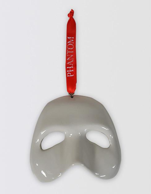 The Phantom of the Opera Broadway Ceramic Mask Ornament - The Phantom Of The Opera Broadway Ceramic Mask Ornament