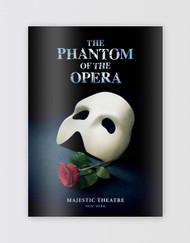 The Phantom of the Opera Broadway Souvenir Program Book