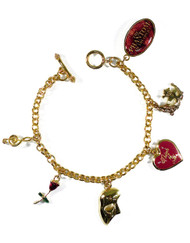 The Phantom of the Opera US Tour Charm Bracelet