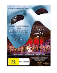 The Phantom of the Opera US Tour - Royal Albert Hall 25th Anniversary DVD