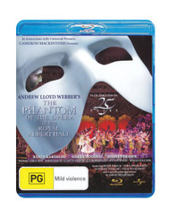 The Phantom of the Opera US Tour - 25th Anniversary Blu-Ray