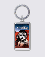 Les Miserables Broadway Keychain