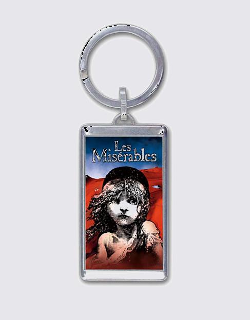 Les Miserables Broadway Keychain