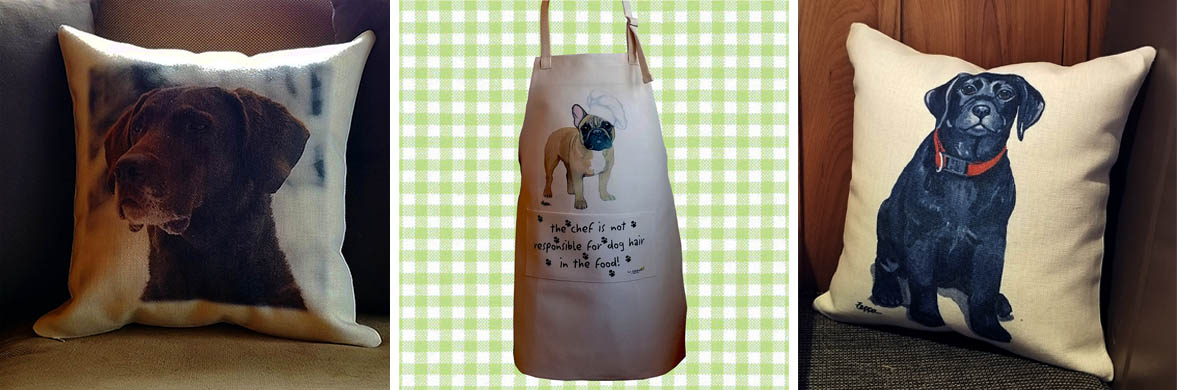 Items in the pipeline...Aprons and Pillows and more!