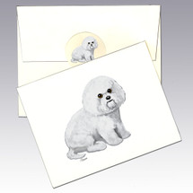Bichon Frise Note Cards