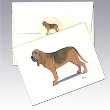Bloodhound Note Cards
