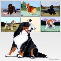Bernese Mountain Dog Cutting Board