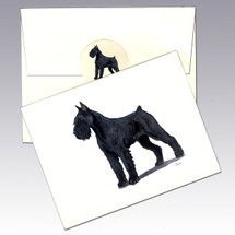 Giant Schnauzer Note Cards