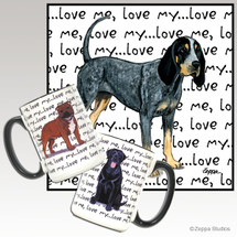 Bluetick Coonhound Love Me Mug