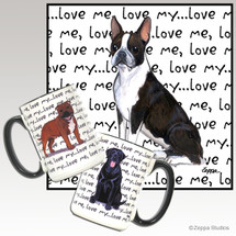 Boston Terrier Love Me Mug