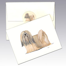 Lhasa Apso Note Cards