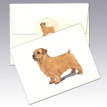 Norfolk Terrier Note Cards