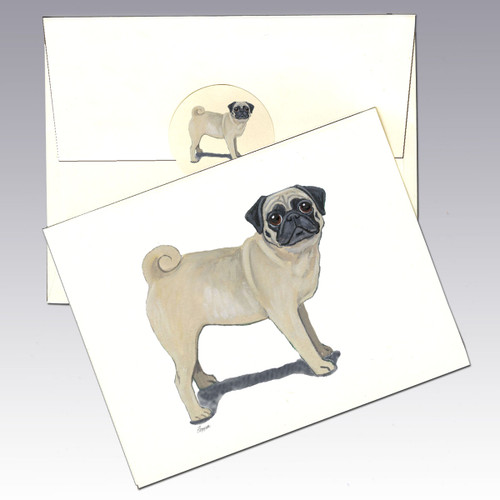 Pug Note Cards