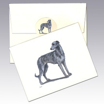 Scottish Deerhound Note Cards