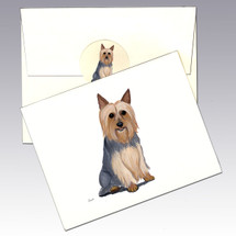 Silky Terrier Note Cards