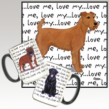 Irish Terrier Love Me Mug